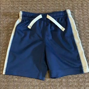 💙3/$10 Carters Blue & White Athletic Shorts 24 mo